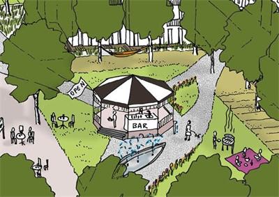 Voorkeursscenario dorpsplein